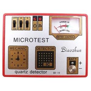 Image 4 - Démagnétisation/mesure de la batterie/impulsion/testeur de Quartz Machine outil de montre pour détecter la capacité de la batterie