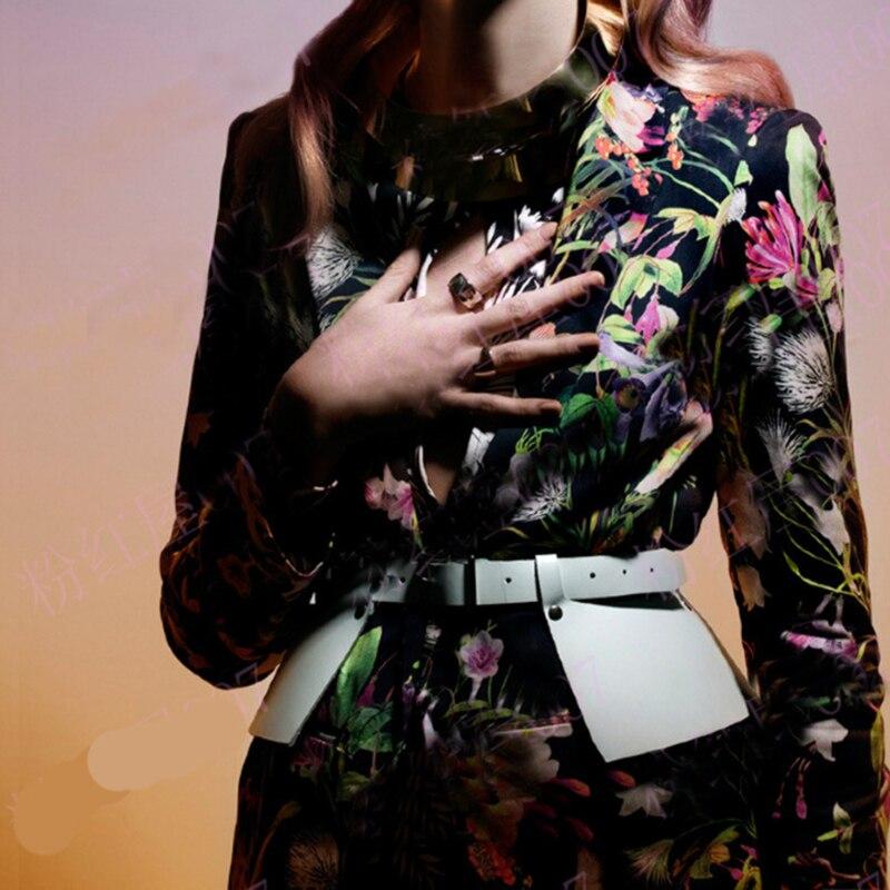 Female Dress Pu Leather Waist Belts Women Peplum Belt Square Buckle Fashion Ladies Bow Wide Harness Dresses Designer Waistband