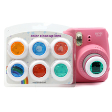 LENS-FILTER Camcorder PHOTO-FILTER-ACCESSORIES Close-Up Polaroid Fujifilm Instax Colorful