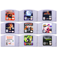 64 Bit Game Fighting Games Video Game Cartridge Console Card English Language US Version for Nintendo image