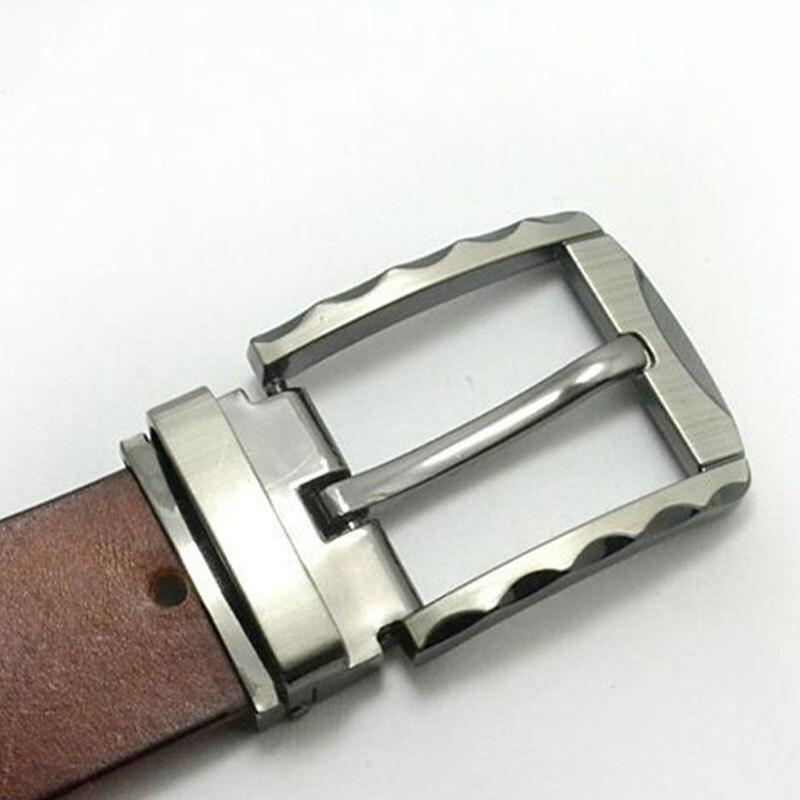 40MM Metal Belt Buckle Middle Center Bar Men's Single Pin Buckle Leather Belt Bridle Halter Harness Adjustment Hot Sale