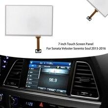 7 Inch Press Screen Panel Glass Digitizer for Hyundai Sonata Veloster Kia Sorento Soul 2013-2016 Radio Navigation 7inch