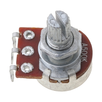 A500K Control Pot Electric Guitar Push Pull Ascend Bass Control Switch Pot Musical Instruments image