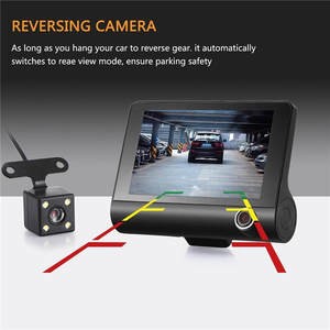 Camera Rearview Auto NEW Car 1080P 170-Degree 3-Lens DVR Car-Camera-Recorder G-Sensor