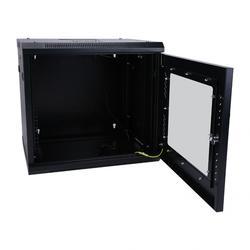 Armadio di Rete per 19 Standard Rack Dispositivi 55*45*50 Cm 100% Del Nuovo Muro di Acciaio Si Cabinet con Ventilatore a Soffitto E Prese D'aria