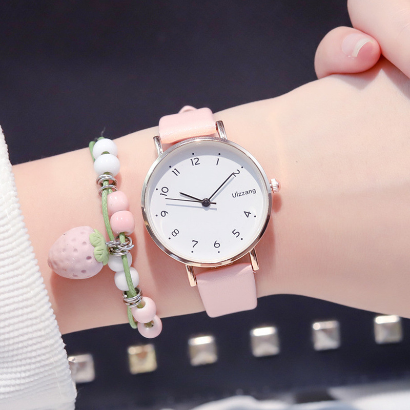 Ultra-Thin Simple Fashion Women Quartz Watches 2019 Ulzzang Brand Small Fresh Ladies Wristwatches Casual Woman Leather Clock
