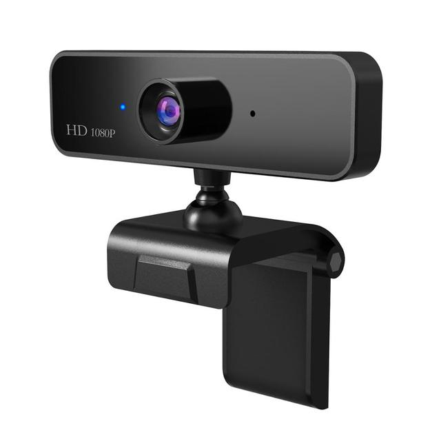 1080P Webcam with Microphone Full HD Video Web Cam Computer Peripheral USB Web Camera for Youtube PC Laptop Live Video Tripods
