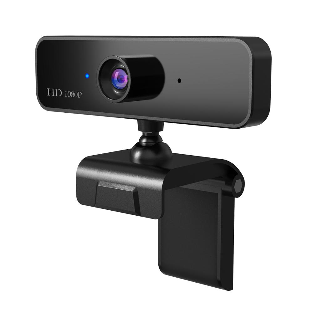 USB HD 1080P Webcam Built-in Microphone High-end Video Call Computer Peripheral Web Camera For Microsoft Youtube PC Laptop Black