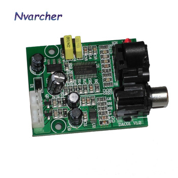 цена на DAC Digital Decoder CS8416+CS4344 Optical Fiber Coaxial Digital Signal Input Stereo Audio Output Decod For Amplifier