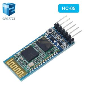 Image 3 - GREATZT HC05 HC 05 master slave 6pin JY MCU anti reverse, integrated Bluetooth serial pass through module, wireless serial dai