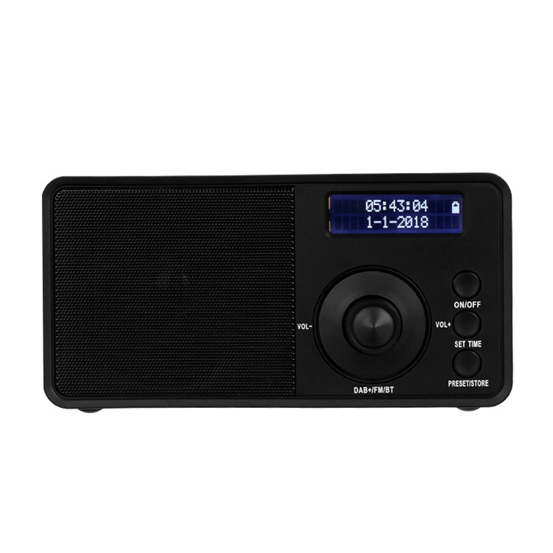 DAB Digital Radio High Sensitivity Wireless FM Stereo for Outdoor Camping Home