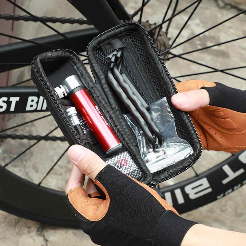WEST BIKING Multi Bike Cycling Tool Capsule Boxes Repair Kit Bottle Cage Case