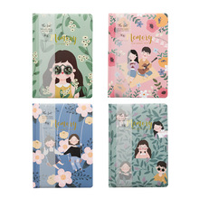 A5 Hard Cover Diary Planner Notebooks And Journals Agenda 2019 Organizer Note Books For School Drawing Kawaii Stationery