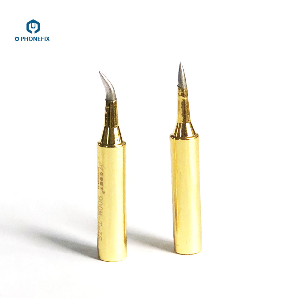 PHONEFIX Universal Jumper Wire Soldering Iron Tip 900M Series Replaceable Iron Head For IPhone / Android Mobile Phone Repair