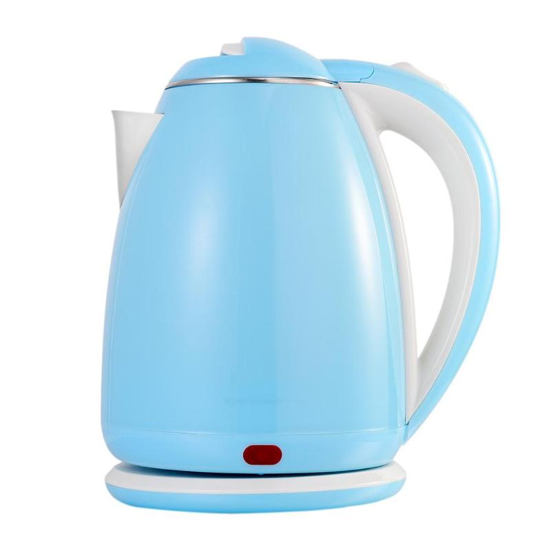 Stainless Steel Electric Kettle With Water Temperature Meter 1500W Household 220-240V Quick Heating Portable Travel Water Boiler