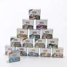 324pcs Pokémon English Card TCG: Sun & Moon Pocket Monsters Pokemon Kids Card Game Battle
