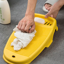 Washing-Board Laundry Scrubbing Thicken Plastic Anti-Slip with Soap-Holder Cleaning-Products