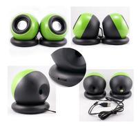 DSstyles USB Mini Computer Speaker Desktop Notebook Small Speaker Portable Subwoofer