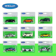 WELLY 1: 60 speelgoed auto model set van 22pcs auto legering model auto simulatie auto decoratie collection gift toy spuitgieten model(China)