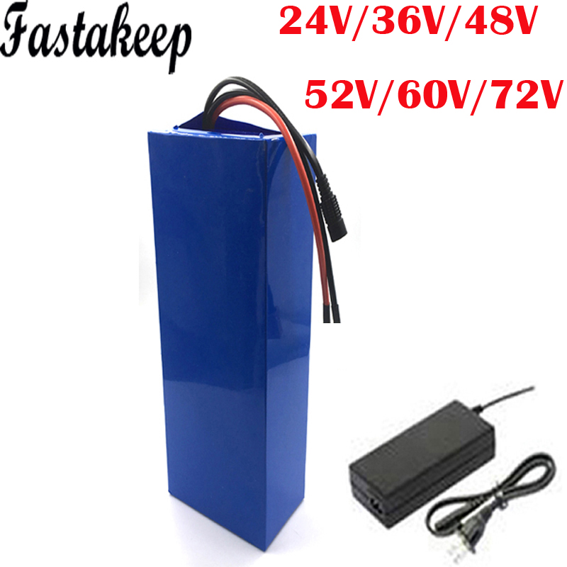 Electric bike Battery 24V 36V 48V 60V 72V  15AH 20AH 40AH 25AH 30AH 1000w 2000w bafang Ebike Lithium Battery|Electric Bicycle Battery| |  - title=