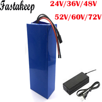 Electric bike Battery 24V 36V 48V 60V 72V 20AH 40AH 25AH 30AH 1000w 2000w bafang Ebike Lithium Battery