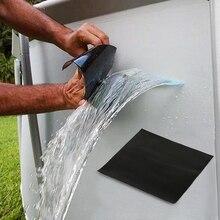 1 шт. водопроводные трубы Уплотнения ремонт черная лента Водонепроницаемый стоп утечки ленты ПВХ самоклеющиеся крепежные ленты