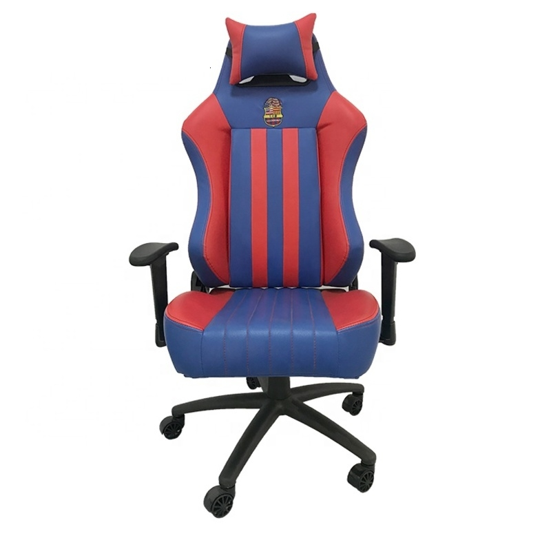 XQ-2851 High Quality Leather Ergonomic Armrest Lift Gaming Chair Racing Office Chair For Gamer With Castors