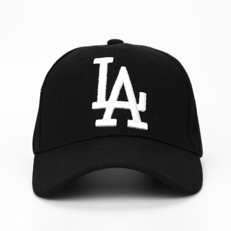 2020 Women Men LA Dodgers Baseball Cap Letter Embroidery Bone Snapback Hat Summer Outdoor Adjustable Hip Hop Hats Casquette