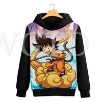 Dragon Ball Goku Hoodies Women Harajuku Sweatshirts Men 3D Printed Casual Hooded Autumn Winter Warm Clothing Streetwear Hoodie