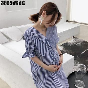 Nursing Cotton Dress for Pregnant Women 2