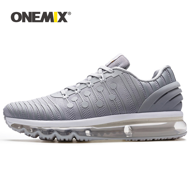 ONEMIX Sports Shoes Men Running Sneakers Outdoor Jogging Shoes Shock Absorption Outdoor Sneakers For Walking Big Size 36-47