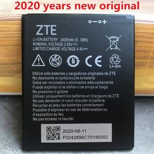 Image 1 - 2020 새로운 원래 고품질 2400mAh Li3824T44P4h716043 배터리 ZTE 블레이드 A520 A521 BA520 A520C A603 BA603 전화 배터리