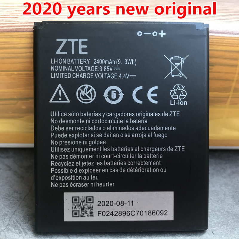 2020 New Original High Quality 2400mAh Li3824T44P4h716043 Battery For ZTE Blade A520 A521 BA520 A520C A603 BA603 Phone Batteries