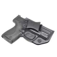 Coldre iwb kydex para smith & wesson m & p escudo e escudo compacto 2.0 9mm. 40 dentro da cintura escondida carregar(China)