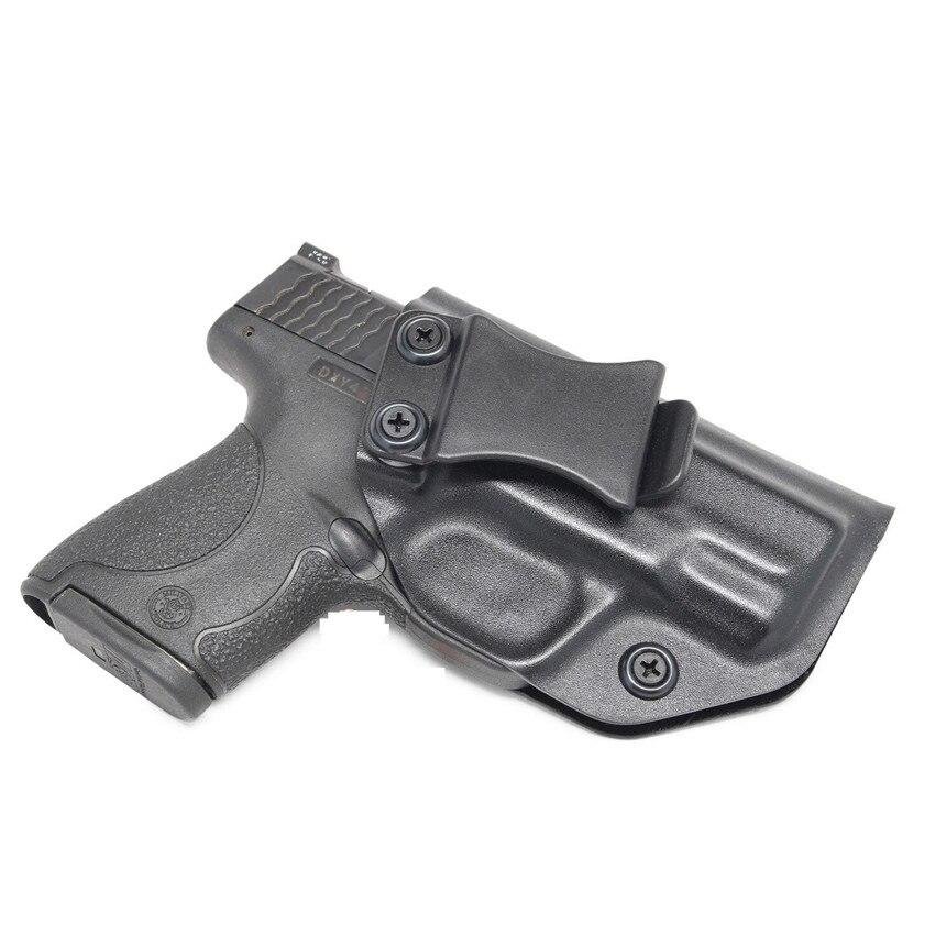 Occultamento Iwb Kydex Fondina per Smith & Wesson M & P Shield & Shield Compact 2.0 9 Millimetri. 40 All'interno La Cintura a Scomparsa Carry
