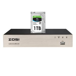 Image 1 - ZOSI 8 ערוץ TVI 4 IN 1 DVR H.265 + 1080p אבטחת CCTV DVR 8CH מיני היברידי HDMI DVR תמיכה אנלוגי/AHD/TVI/CVI מצלמה