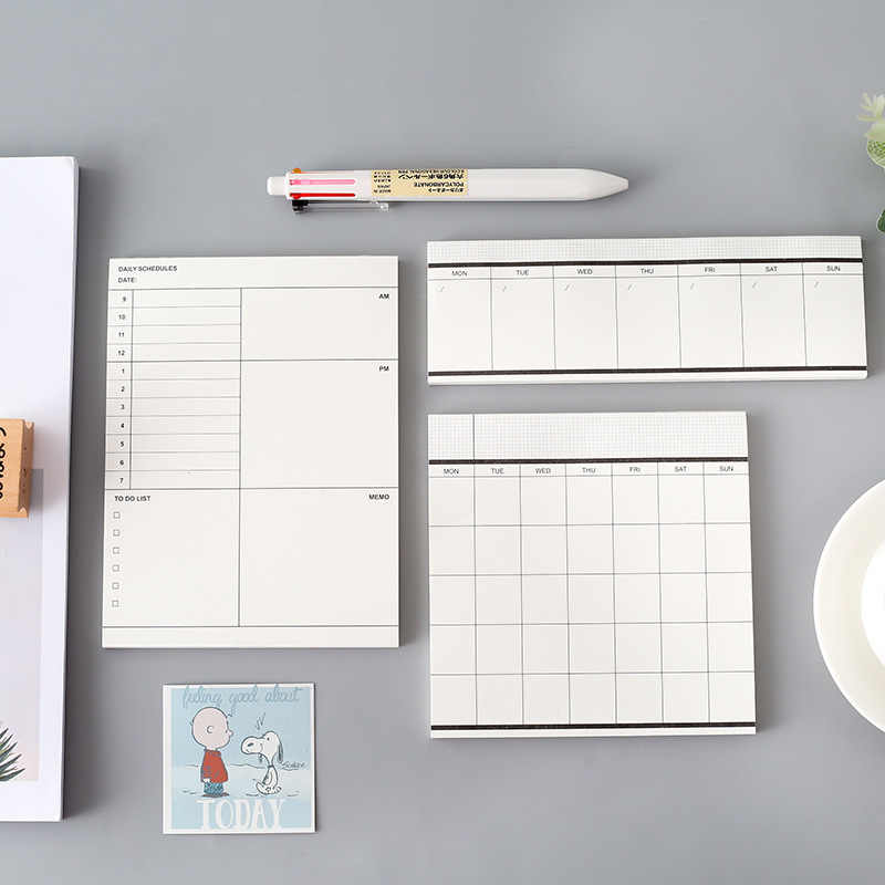 מתכנן שבועי יומי קטן מחברת יומן Cuadernos Y Libretas ספר מכתבים פנקס חזרה לבית הספר מיני 2020