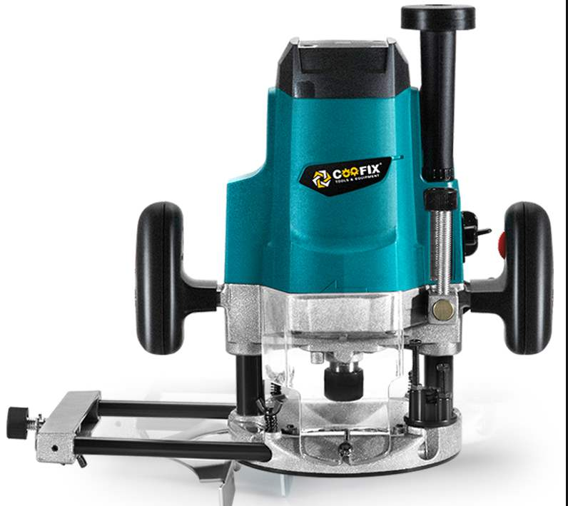 Mini electric wood router multi-function trimmer carving wood milling machine 220V 1800W