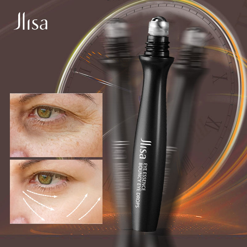 JIlsa Nicotinamide Roll-on Eye Serum Anti-Aging Remove Puffiness Dark Circles Eye Bags Moisturizing Nourish Firming Eye Care