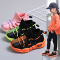 Модные детские кроссовки для мальчиков и девочек с буквенным принтом; спортивные кроссовки для бега; Повседневная обувь; Размеры 20  21  22  23  24