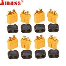 10 шт. Amass XT60 + Штекерный разъем с корпусом в футляре 5 штекеров 5 гнезд (5 пар)