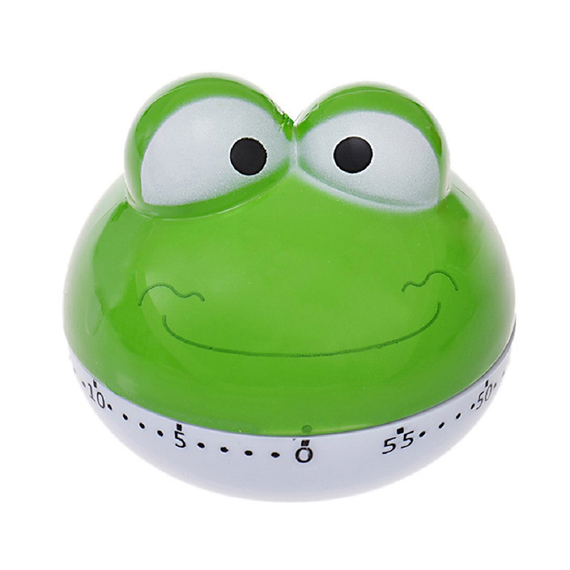 Cute Lovely Kitchen Timer Count down 60 Minutes Alarm Clock (Green  frog)|Kitchen Timers| |  - title=