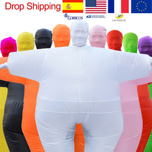 Adult Anime Cosplay Chub Inflatable Costume Blow Up Color Full Body Paty Costume Jumpsuit 9 Colors Halloween Cosplay Costumes