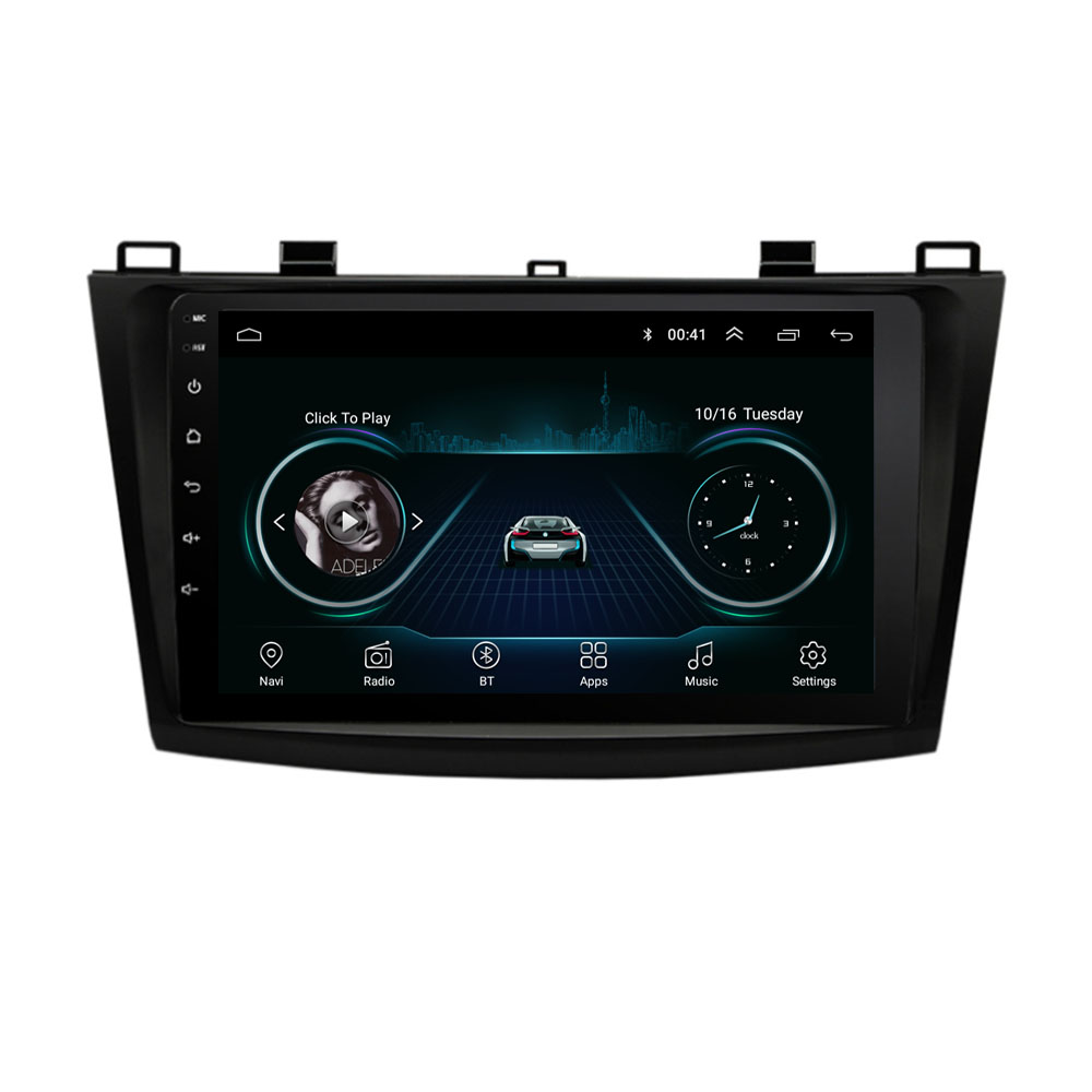 4G LTE Android 8.1 For <font><b>MAZDA</b></font> <font><b>3</b></font> <font><b>2010</b></font> 2011 2012 2013 Multimedia Stereo Car DVD Player Navigation GPS <font><b>Radio</b></font> image