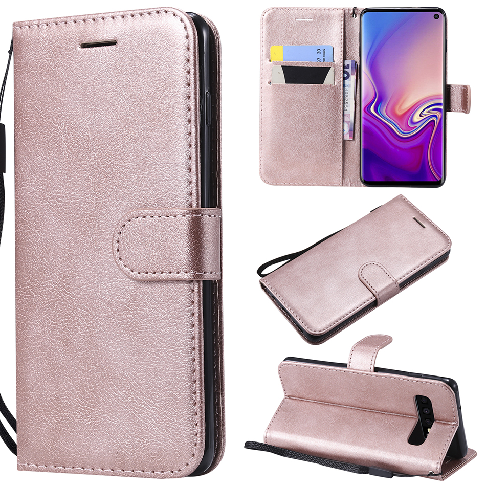 Leather Flip Case for Samsung Galaxy S20 S10e S10 Lite Note 10 Plus A10E A91 A01 A11 M11 A21 A41 M31 A70E A81 M60S Phone Cover