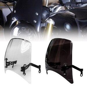 For BMW R Nine T RNineT R9T Scrambler 2014 2015 2016 2017 2018 2019 Motorcycle Windshield Windscreen Headlight Fairing Deflector