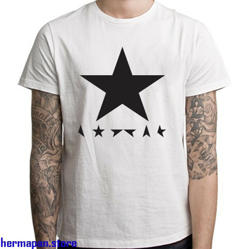 DAVID BOWIE BLACKSTAR ROCK UNISEX T-shirt S XXL