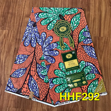 African Wax Print Fabric 100% Cotton High Quality Ankara Sewing Material For Dress Ankara Wax print Fabric 6yards