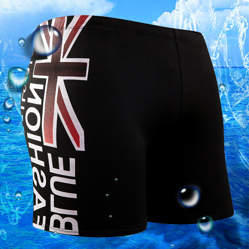 Sports Shorts Men AussieBum Beach Shorts Fashion Loose Comfortable Quick-Dry Bubble Hot Spring Swimwear