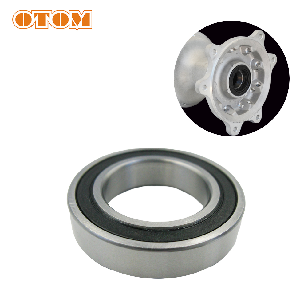 OTOM Front and Rear Wheel Bearing And Seal Kit For HONDA CRF250R <font><b>CRF250X</b></font> Motocross Standard Bearing Motorcycle image